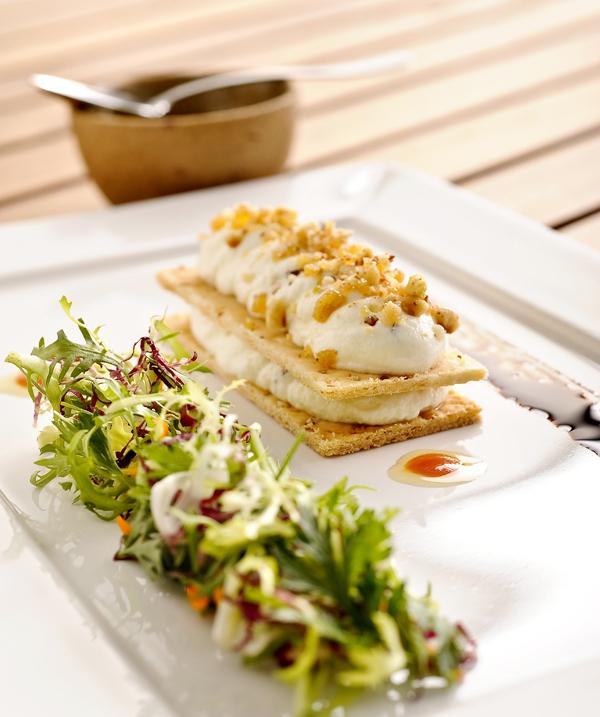 Papo de Cozinha – Receita: Salada de Queijo de Cabra