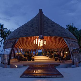 O maravilhoso cenário das Ilhas Maldivas
