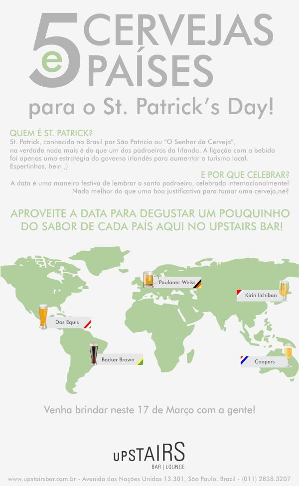 St. Patrick's Day no Upstairs Bar!