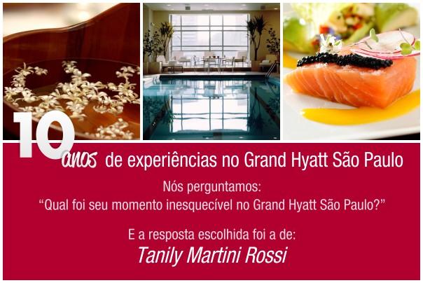 Concurso 10 anos - Grand Hyatt Sao Paulo