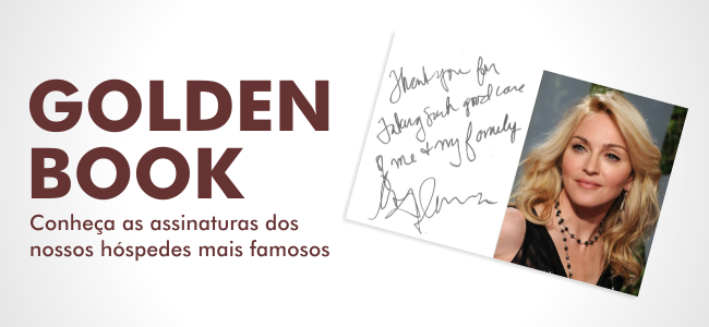 Golden Book – Assinaturas Famosas!