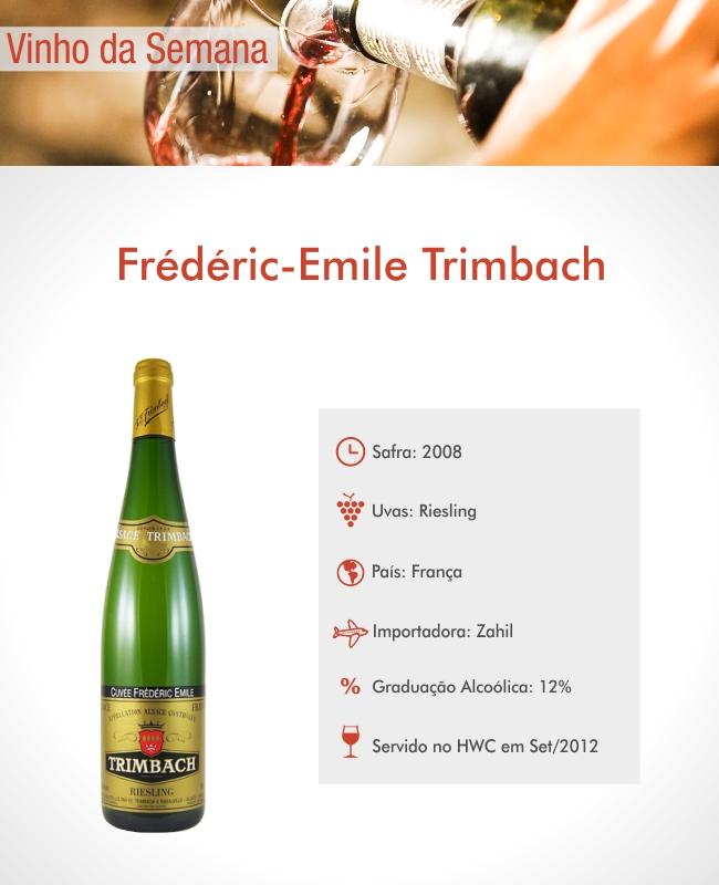 Hyatt Wine Club - F E Trimbach Risling Alsace 2008