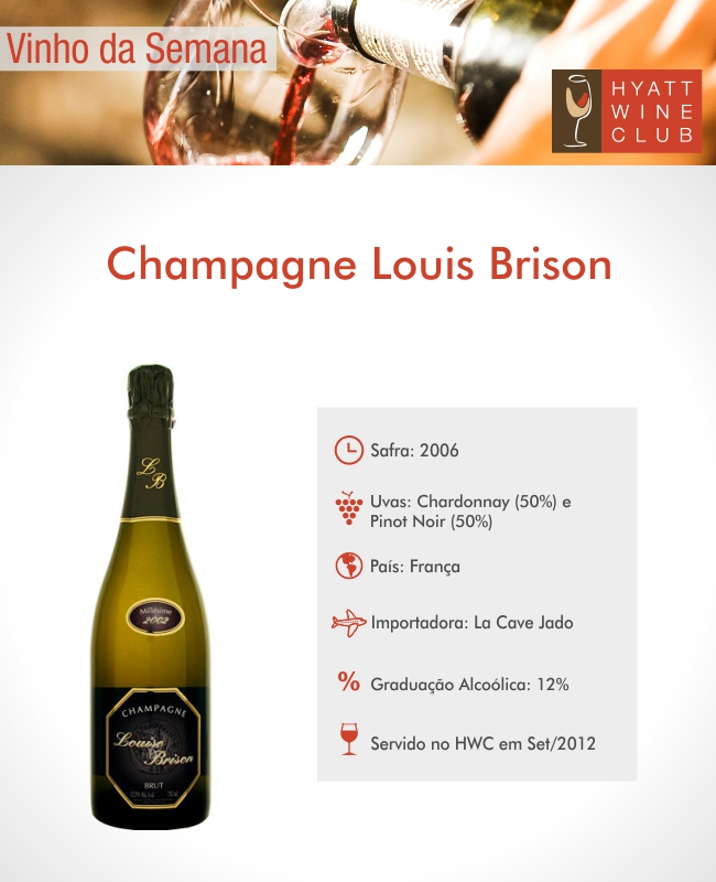 Grand Hyatt Sao Paulo - Champagne Louis Brison