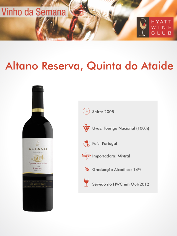 Altano Reserva - Hyatt Wine Club