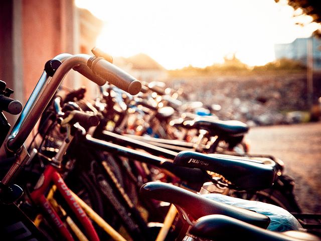 Bicicletas - Foto by: flickr.com/photos/nurpax/ - CC