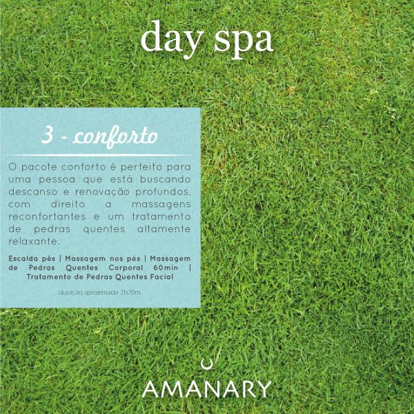 Day Spa - Pacote Conforto