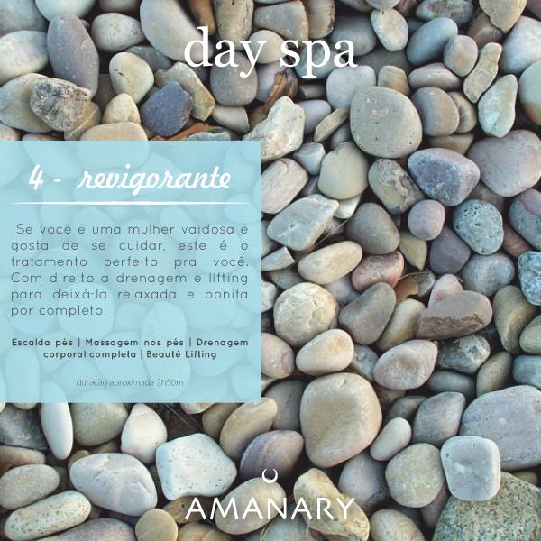 Day Spa - Pacote Revigorante