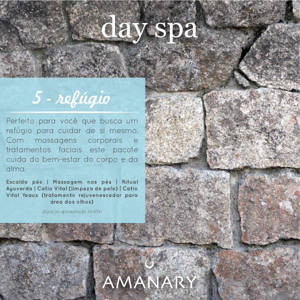 Day Spa - Pacote Refúgio