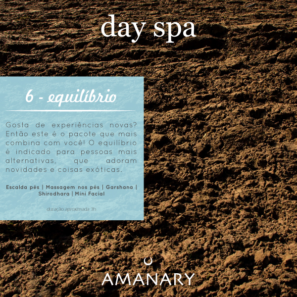 Day Spa - Pacote Equilibrio