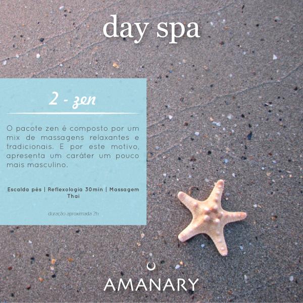 Day Spa - Pacote Zen