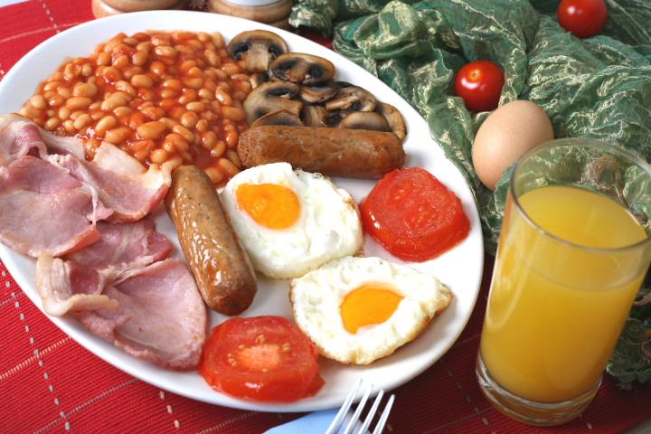 café da manhã ingles