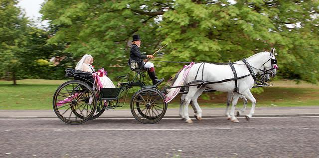 Dicas para a chegada da noiva ao casamento