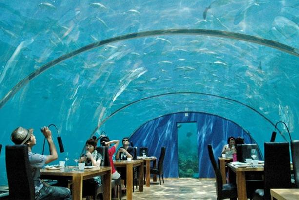 6 Restaurantes exóticos ao redor do mundo.