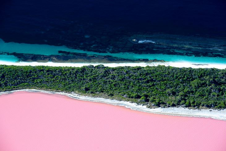 Lago Hiller - Austrália