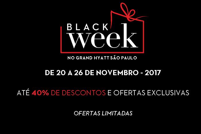 Black Week – Grand Hyatt São Paulo