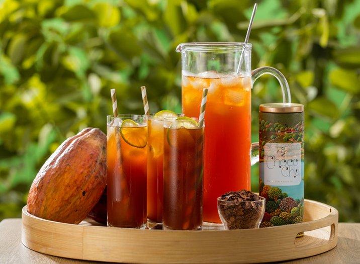 Que tal um Choco Chá nesse verão?