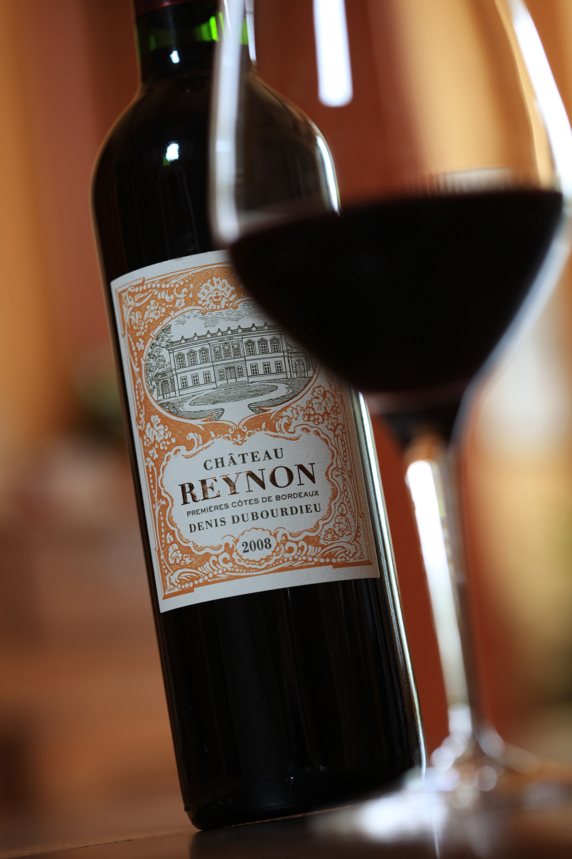 Wine dinner domaine denis dubourdieu estilo hyatt for Chateau reynon