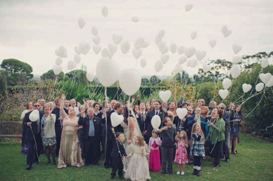 convidados no casamento