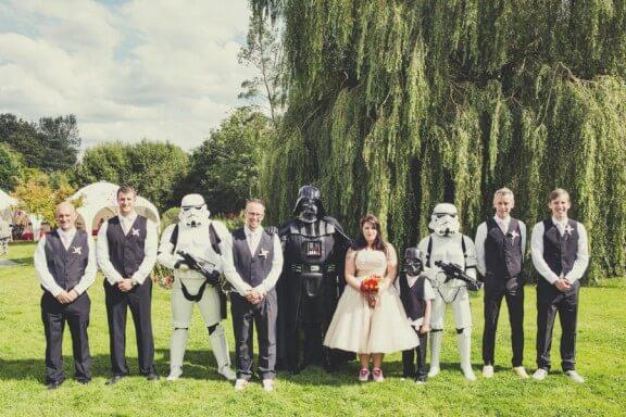 casamento geek star wars