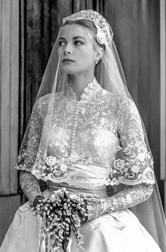 vestidos de noiva grace kelly