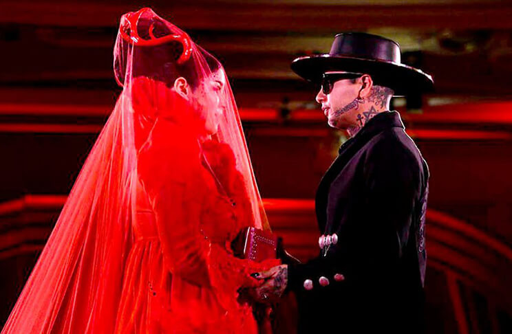 vestido de noiva kat von d