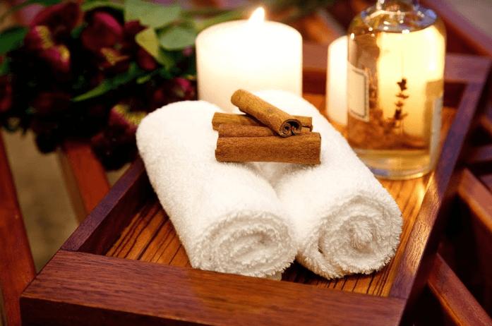 toalhas e acessórios para massagem profissional