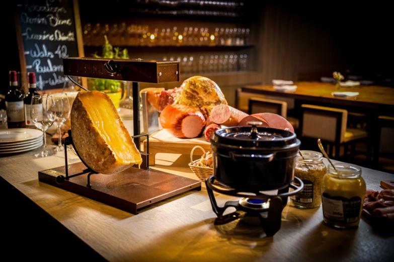 Queijo suíço raclette