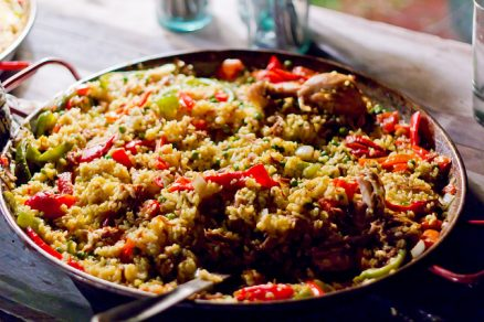 Paella - Foto by: flickr.com/photos/kwajkid/
