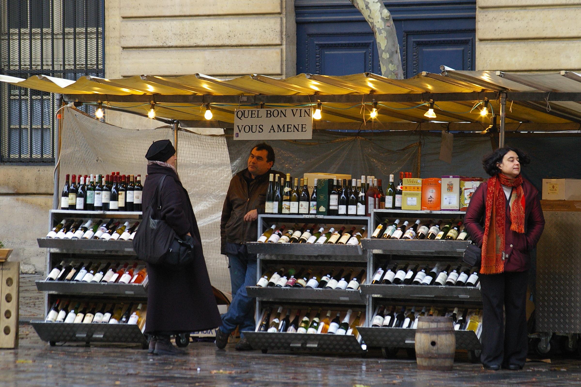 Vinhos em Paris