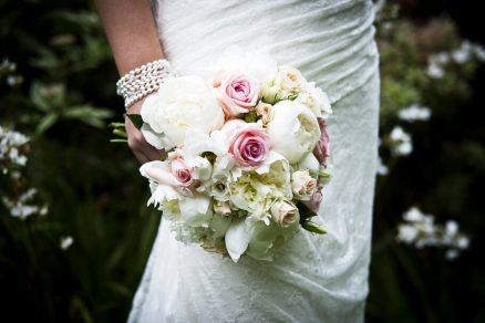 flores no mini wedding