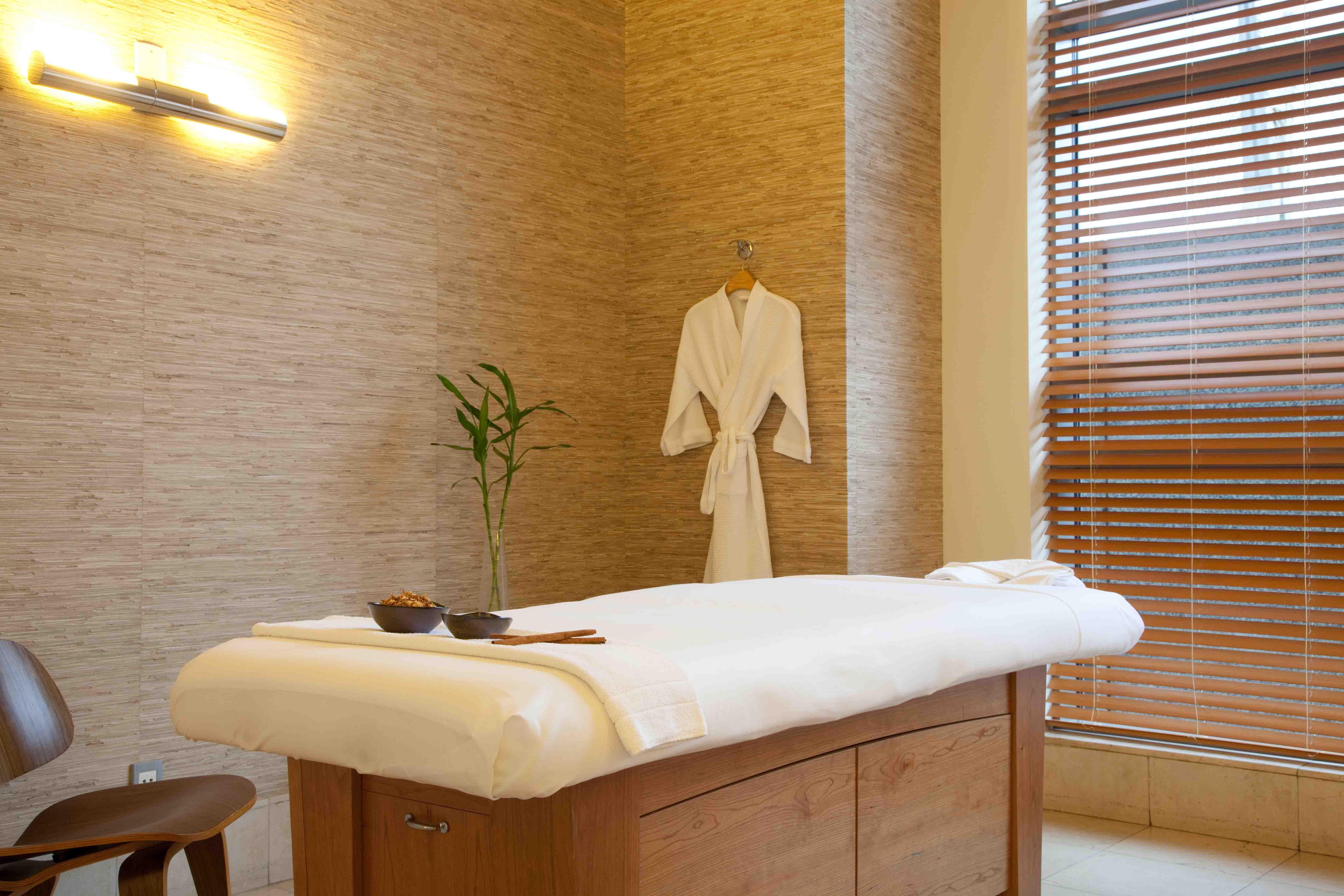 ambiente de spa amanary hyatt