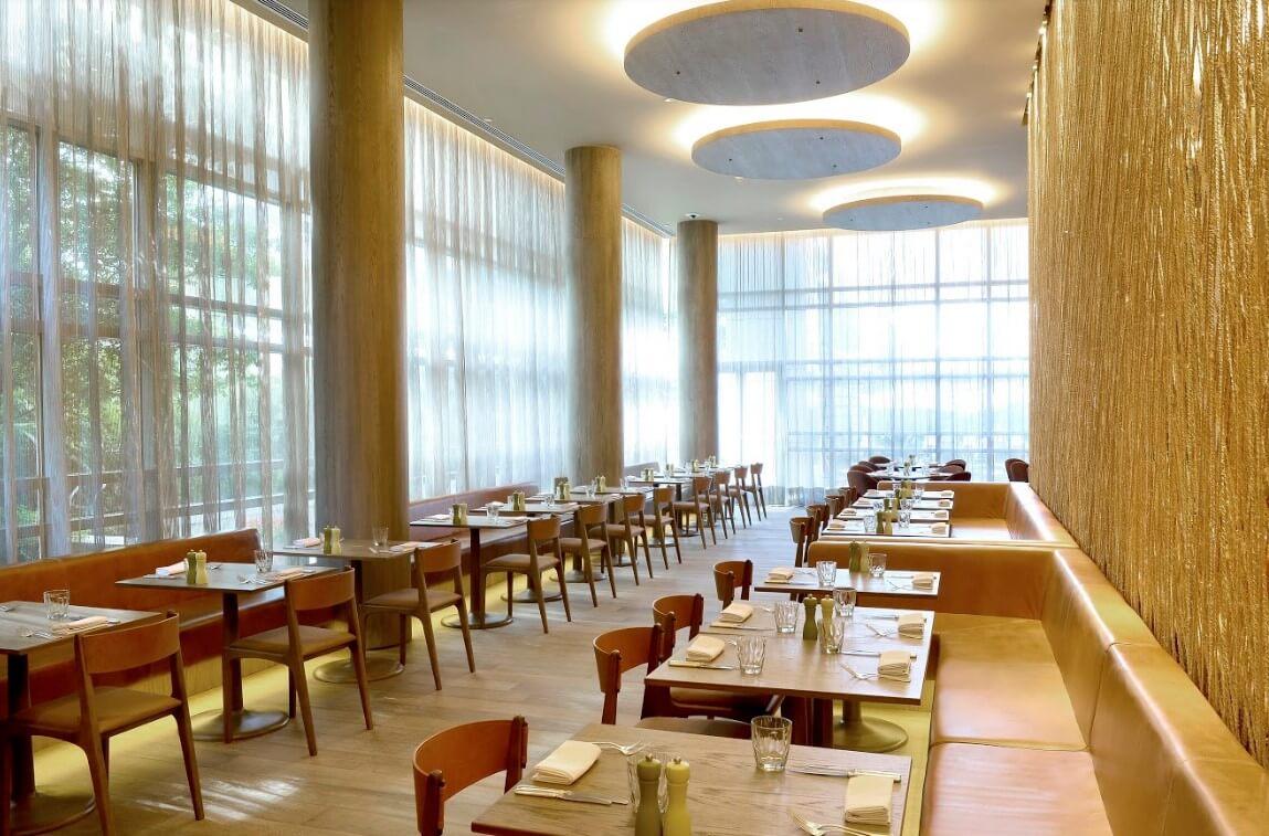 Área do restaurante C-Cultura Caseira do Grand Hyatt