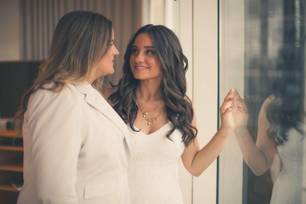 Bruna e Camila no Grand Hyatt