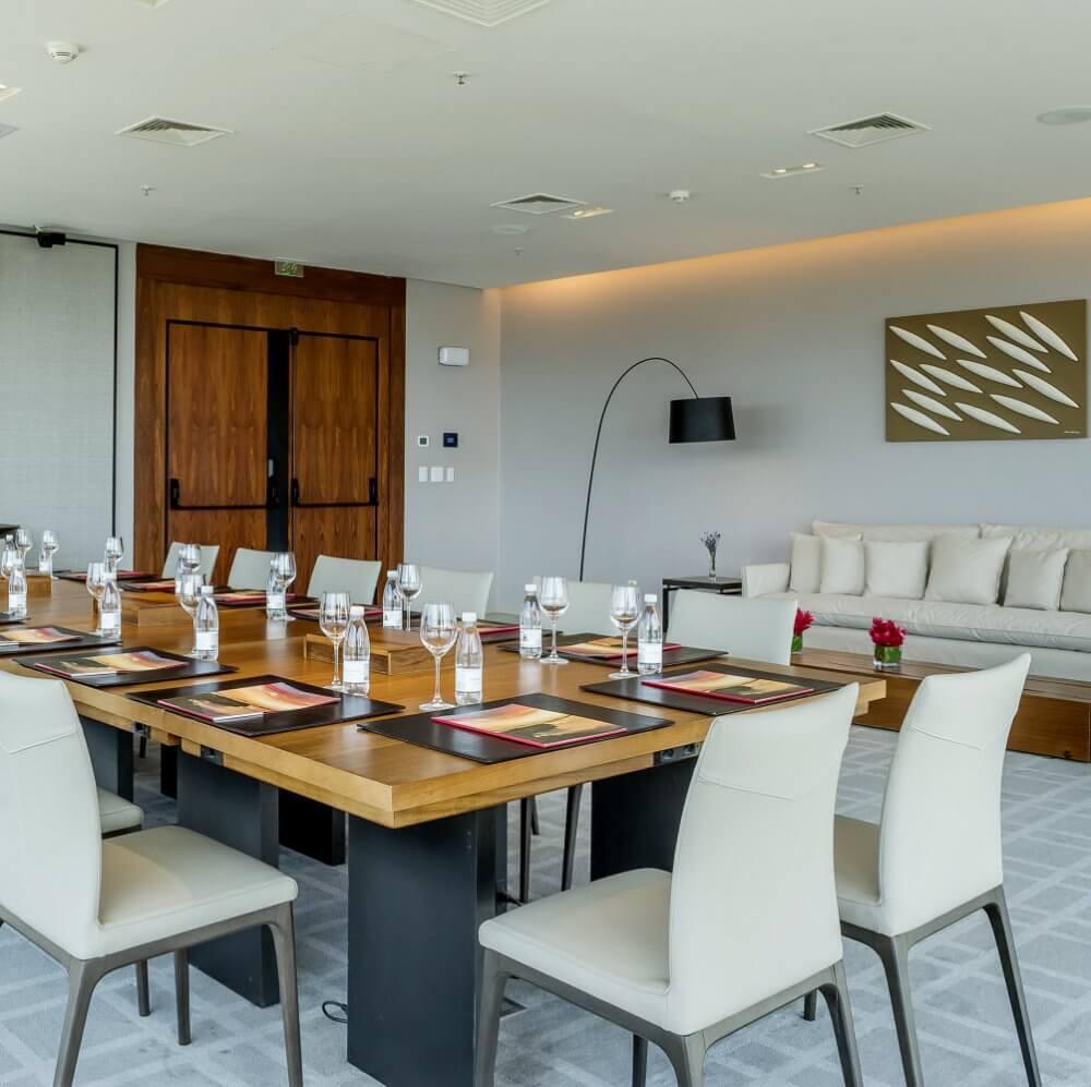 Espaço para eventos corporativos no Grand Hyatt