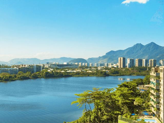 Réveillon na Barra da Tijuca de frente para a Lagoa de Marapendi