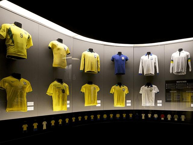 O Museu da Seleção Brasileira é uma opção de passeio cultural no Rio de Janeiro