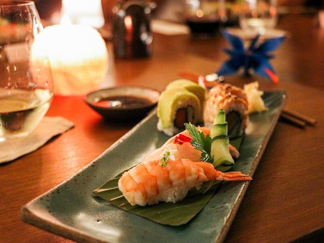 Prato do Omakase Zen, restaurante Shiso no Grand Hyatt apresenta gastronomia no Rio de Janeiro
